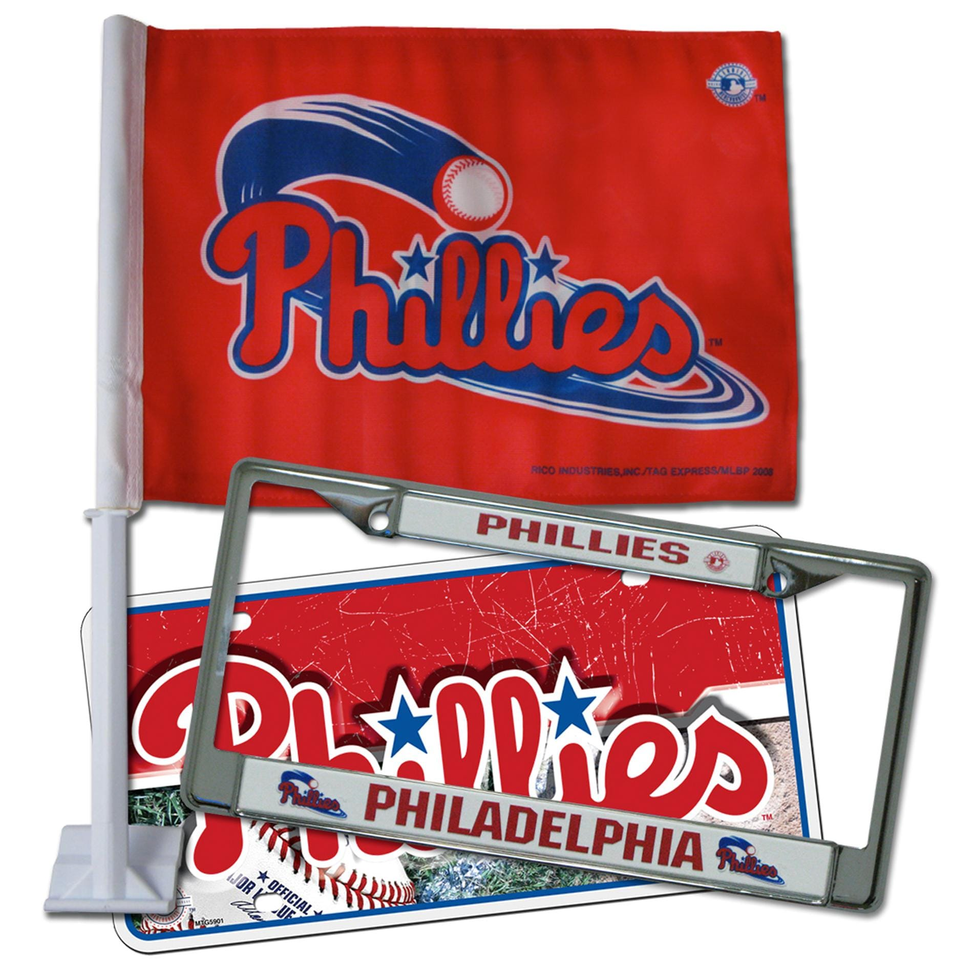 Philadelphia Phillies Automotive Fan Pack