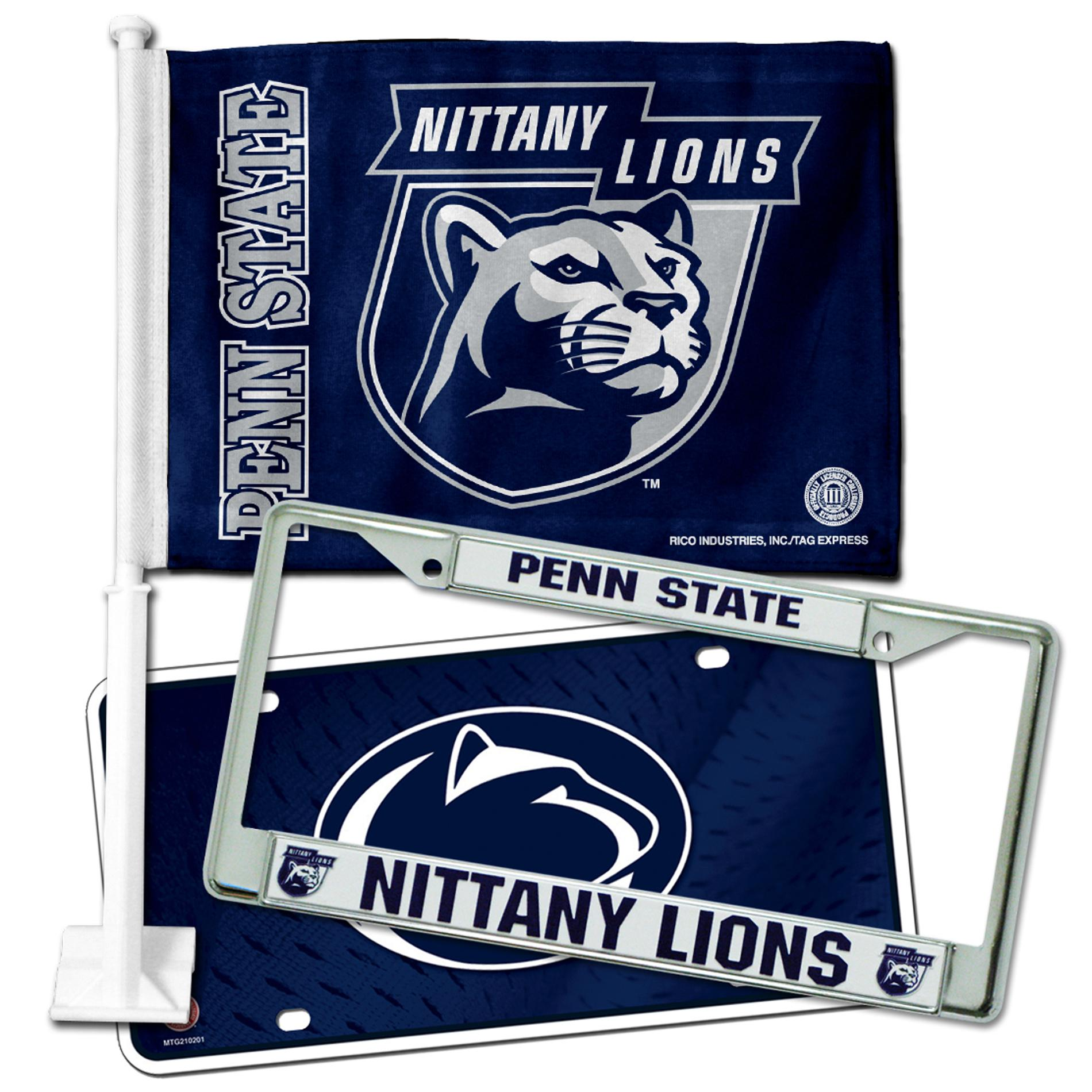 Penn State Nittany Lions Automotive Fan Pack