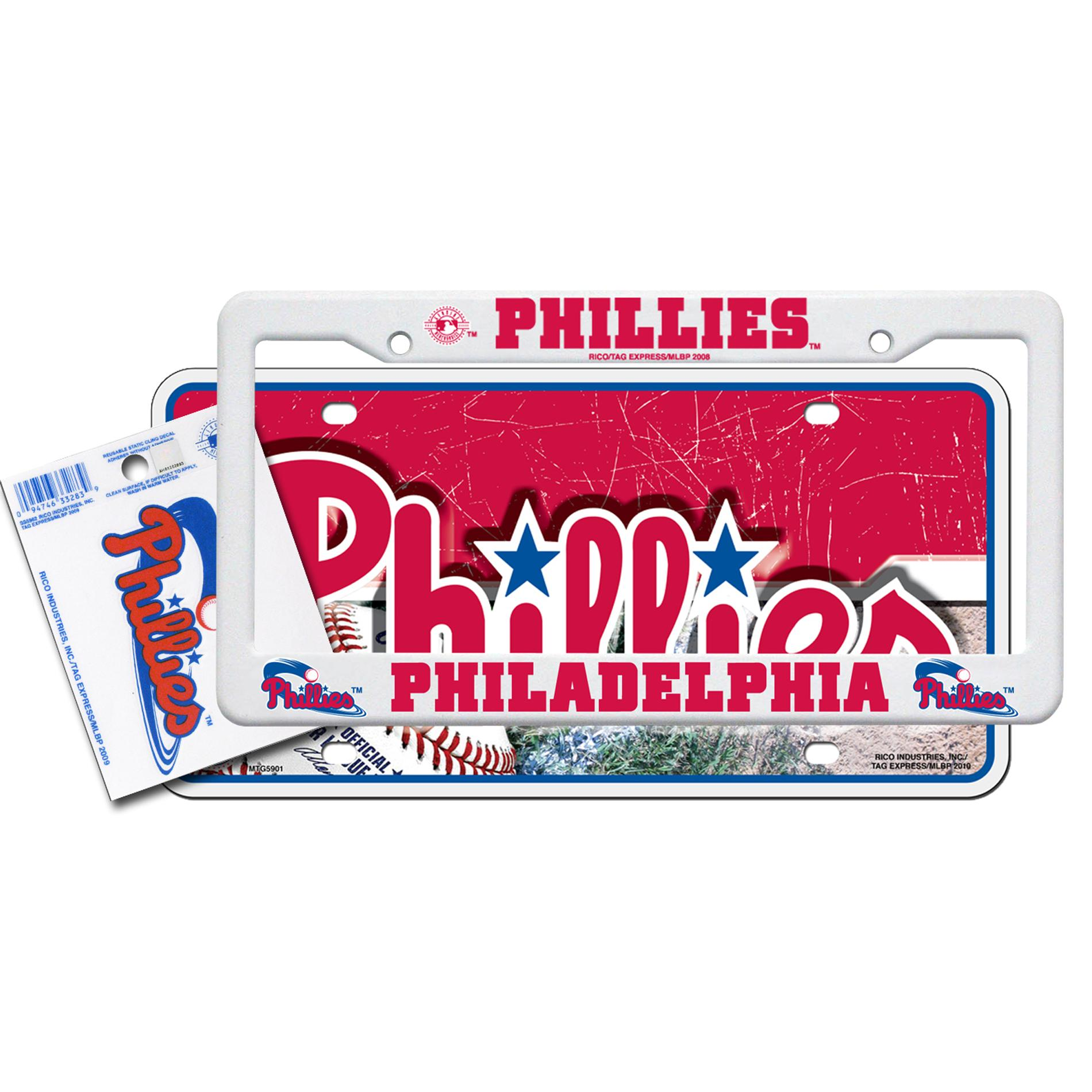 Philadelphia Phillies Automotive Value Pack
