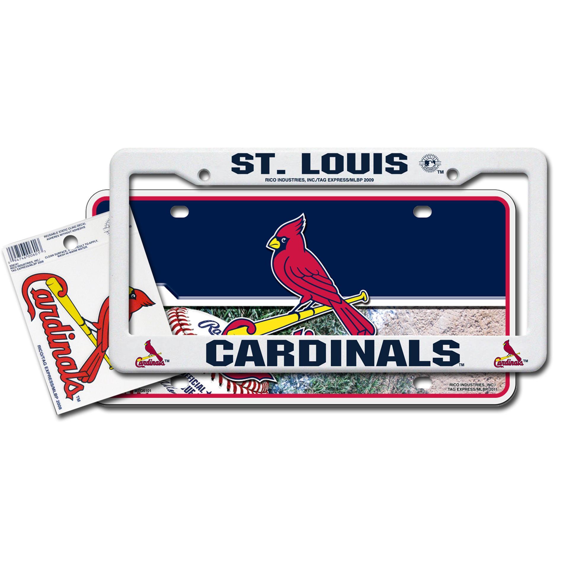St. Louis Cardinals Automotive Value Pack