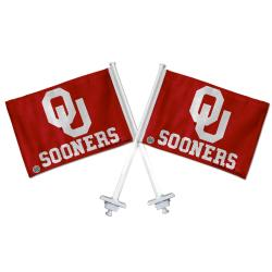 Oklahoma Sooners Truck Flags (Set of 2)