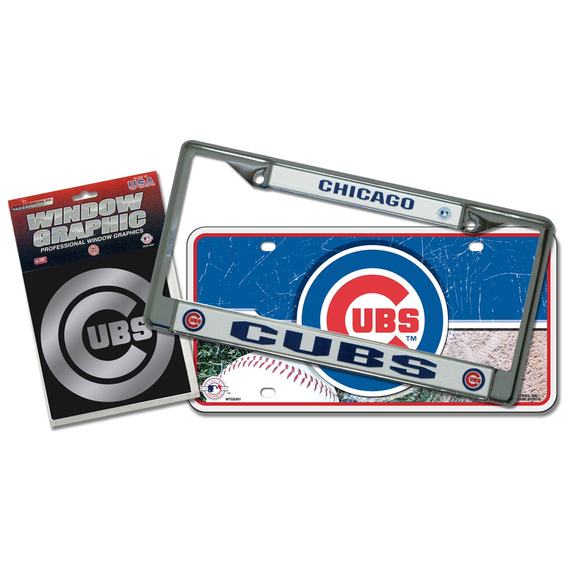 Chicago Cubs Automotvie Detail Pack