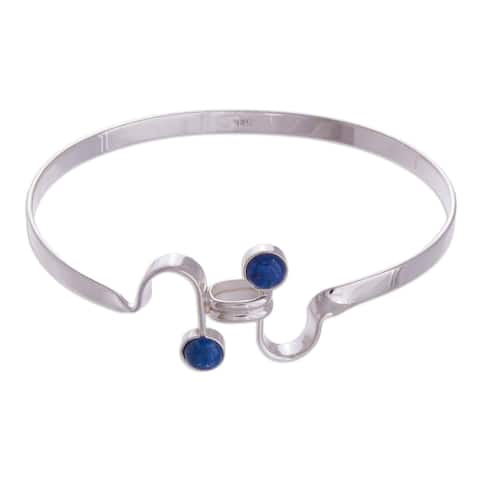 6114e3a5f0940 Buy Over 9 Inches Sterling Silver Bracelets Online at Overstock ...