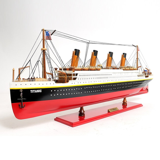 Old Modern Handicrafts Medium Painted Titanic