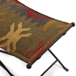 Iron Cloth Seat Bench (India)
