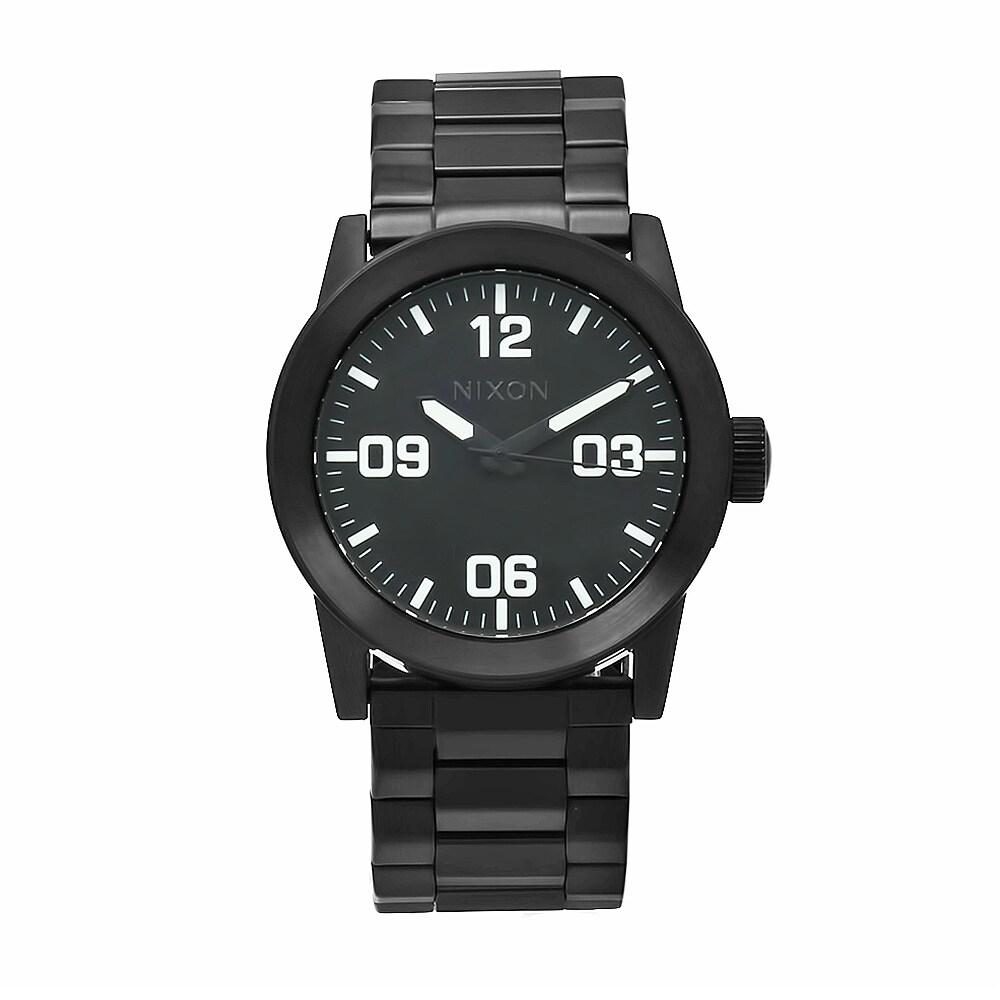 Nixon Men's A276-001 Private SS All Black Watch