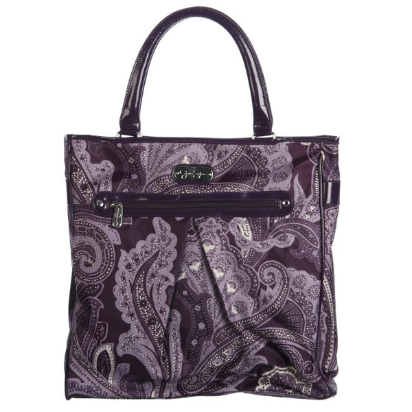Jessica Simpson Spoonful Of Sugar Purple Paisley Carry