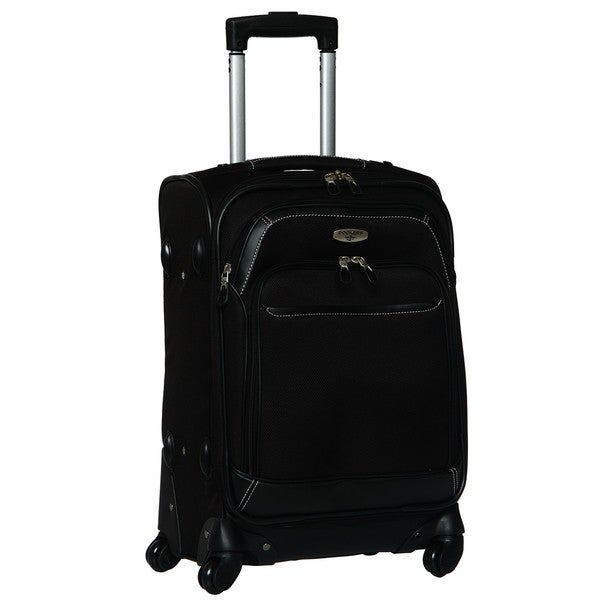 597459136702 Shop Dockers Classic Black 20-inch Carry-On Spinner Upright - Free ...