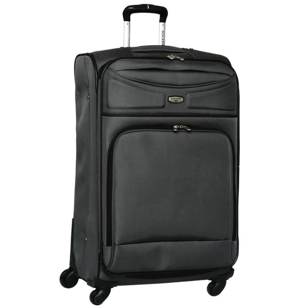 Dockers Grey North Point 28 Inch Expandable Spinner