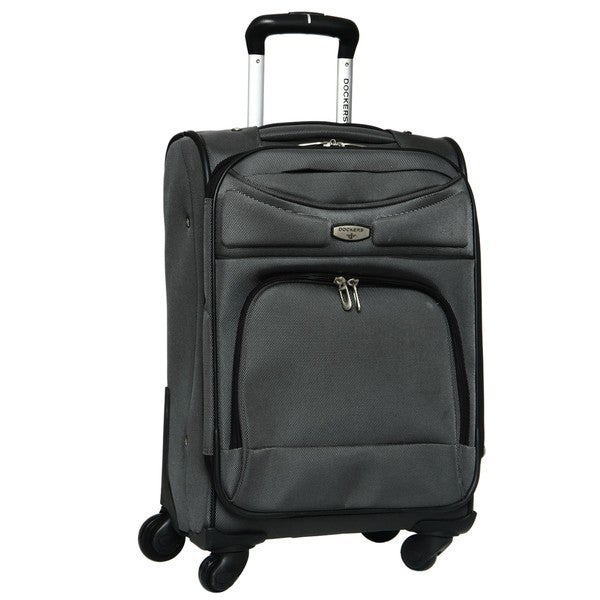 Shop Dockers Grey North Point 20 Inch Expandable Carry On