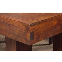 Solid Mango Dining Table with Angled Legs - Thumbnail 2