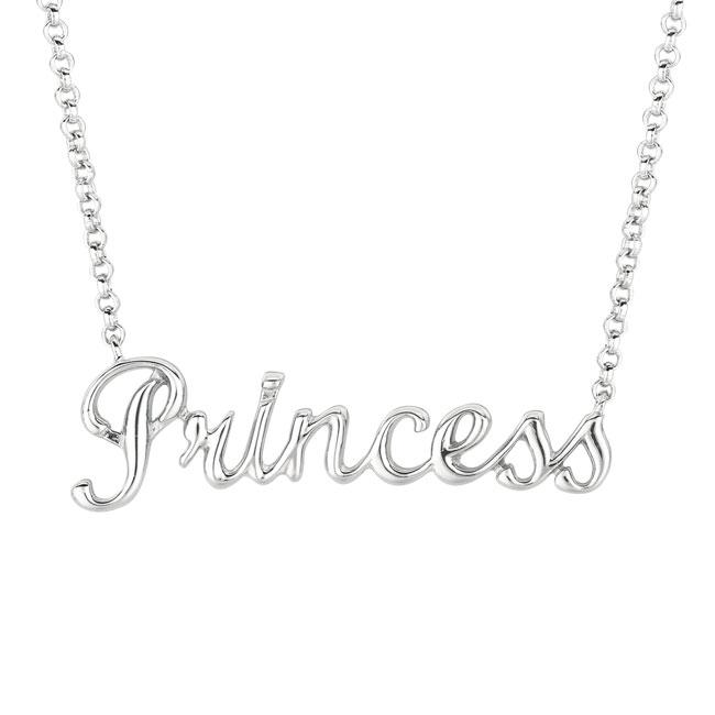 Sterling Silver 'Expression Princess' Necklace