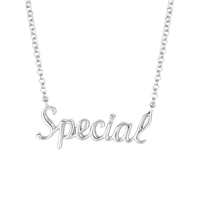 Sterling Silver 'Expression Special' Necklace
