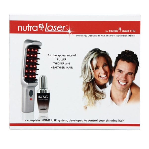 Nutra Laser Hair Active Laser Comb Therapy Set