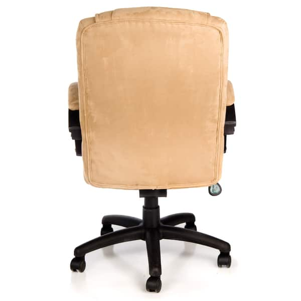 Comfort Products Padded Microsuede Office Chair Free