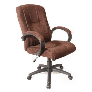 Comfort Products Padded Microsuede Office Chair