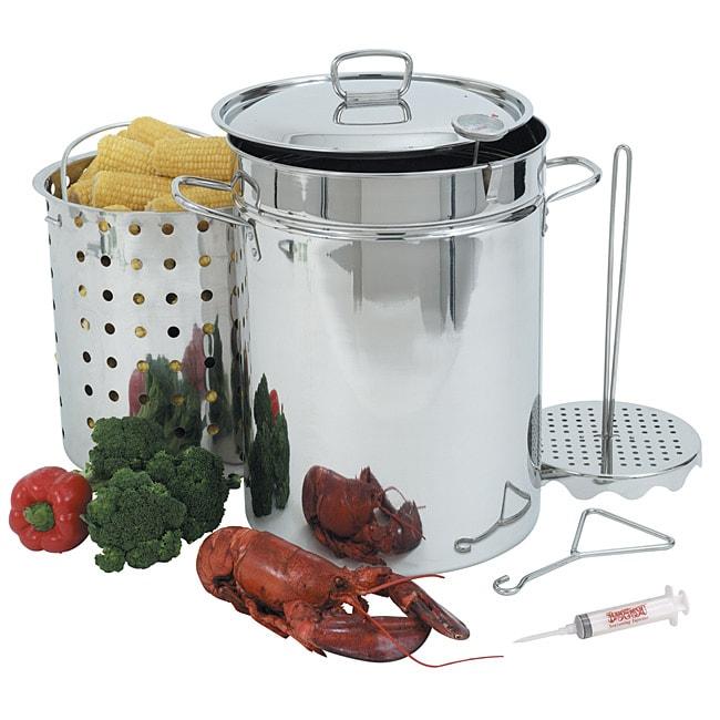 Bayou Classic 32-qt Turkey Fryer Pot Set
