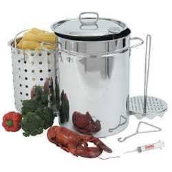Bayou Classic 32-qt Turkey Fryer Pot Set