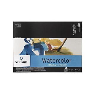 Canson 18-inch x 24-inch Montval Watercolor Paper Pad