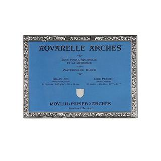 Arches 10-inch x 14-inch Cold Press Watercolor Block