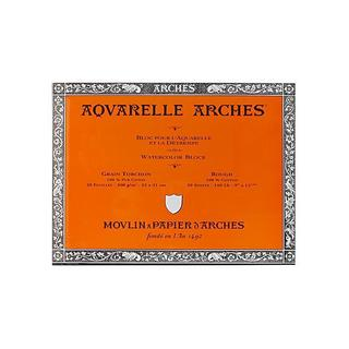 Arches 9-inch x 12-inch Rough Watercolor Block