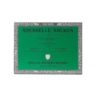 Arches 9-Inch x 12-Inch Pre-Stretched Cold Press Watercolor Block