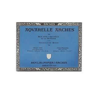 Arches 9-inch x 12-inch Cold Press Watercolor Block