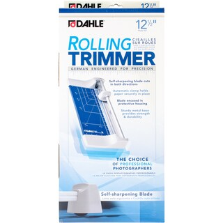 Dahle 12.5-inch Personal Rolling Trimmer