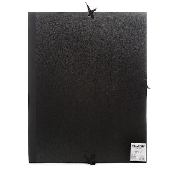 Cachet 20-inch x 26-inch Classic Leatherette Student Portfolio