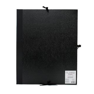Cachet 14-inch x 18-inch Classic Leatherette Student Portfolio