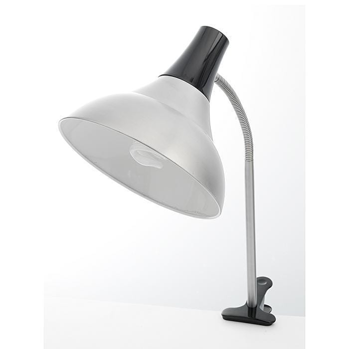 Daylight Company Easel Lamp with Clamp, Black (Aluminum)