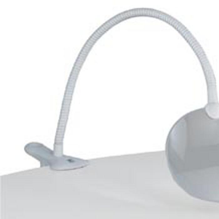 Daylight Company Flexilens with Clamp, White