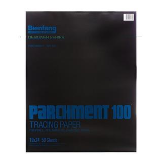 Bienfang 19-inch x 24-inch Parchment 100 Tracing Paper (50 Sheets)