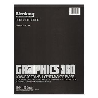 Bienfang 9-inch x 12-inch Graphics 360 Marker Paper