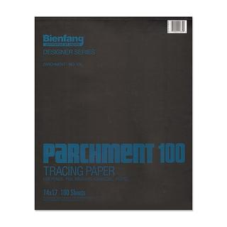 Bienfang 14-inch x 17-inch Parchment 100 Tracing Paper (100 Sheets)