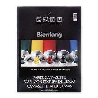 Bienfang 16-inch x 20-inch Canvasette Paper Canvas Pad