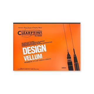 Clearprint 17-inch x 22-inch Design Vellum 1000HP (Pack of 50)