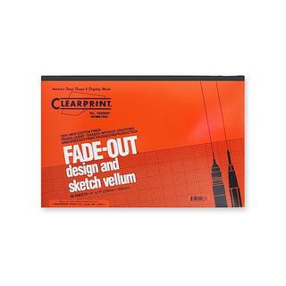 Clearprint 11 x 17-inch Fade-out Design and Sketch Isometric Vellum