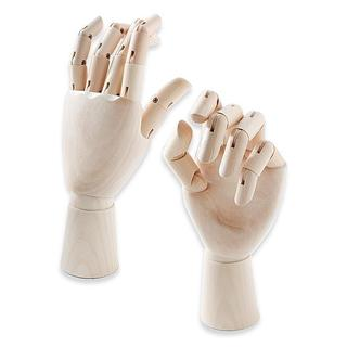 Jack Richeson Left-handed Adult Female Wooden Manikin Hand