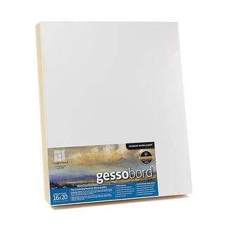 Ampersand 16-inch x 20-inch x 2-inch Deep Cradle Blank Gessobord