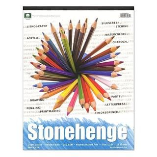 Rising 11-inch x 14-inch Stonehenge Drawing Pad