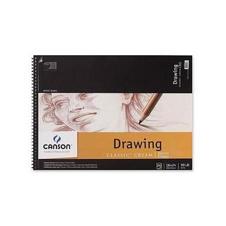 Canson 18-inch x 24-inch Classic Cream Drawing Pad