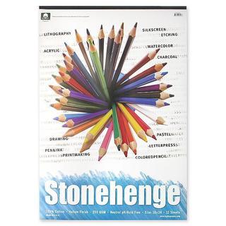 Rising 18-inch x 24-inch Stonehenge Drawing Pad