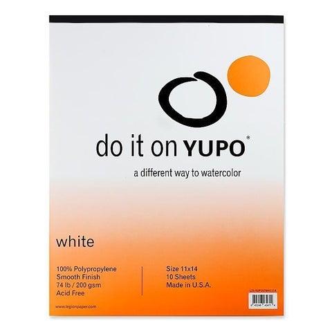 Yupo 11-inch x 14-inch Watercolor Pad