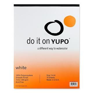 Yupo 11-inch x 14-inch Watercolor Pad