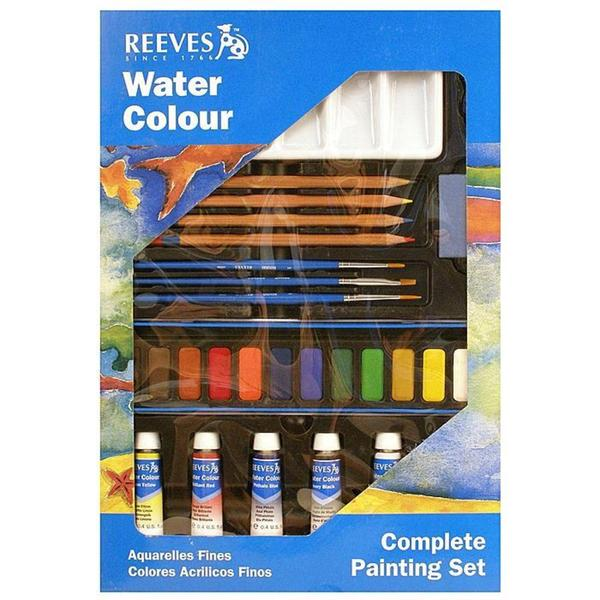 Reeves Watercolor Complete Painting Set