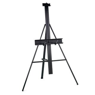 Studio Designs Black Aluminum Floor Easel