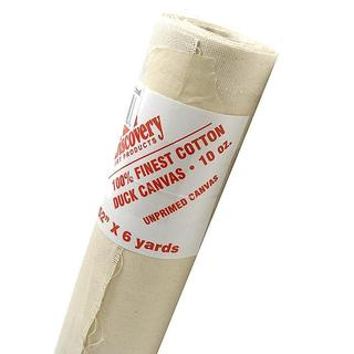Discovery 60-inch x 6-yard Unprimed Blank Cotton Canvas Roll