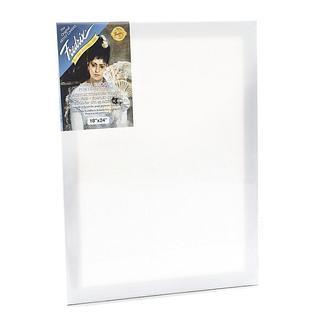 Fredrix 18-inch x 24-inch Blue Label Pre-stretched Canvas
