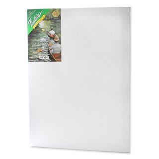 Fredrix 18-inch x 24-inch Green Label Pre-stretched Blank Canvas